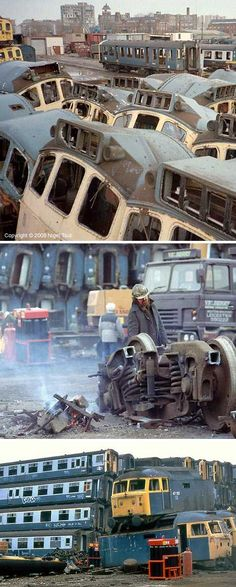Railroaded: 9 Nifty Abandoned Train Car Graveyards