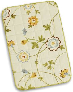 WeBe - Baby's Quilted Mat - Floral Print