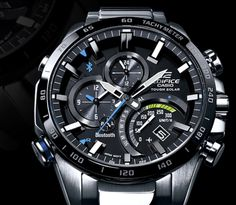 Casio makes beefy watches for not-always-beefy people. Their latest, the Edifice EQB-501 is an interesting amalgam of form, function, and high tech features..