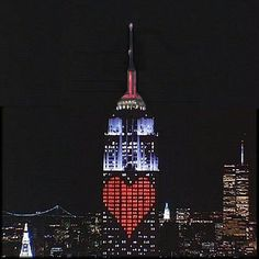 If I love someone enough to get married again then I think that the perfect most romantic place to get engaged is the top of the empire state building on valentines day. (Valentine's Day - NYC)
