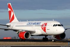 OK-NEP Czech Airlines (CSA) Airbus A319-112