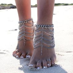 Love these ankle chains