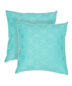 Love this Blue Veranda Sea Star 18'' Throw Pillow - Set of Two on #zulily! #zulilyfinds