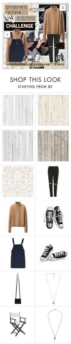 """""""THE REMAKE AND REPOST CHALLENGE"""" by c-hristinep ❤ liked on Polyvore featuring NLXL, Piet Hein Eek, Topshop, Uniqlo, Victoria's Secret, Converse, Maiyet, Michael Kors, Pier 1 Imports and Isabel Marant"""