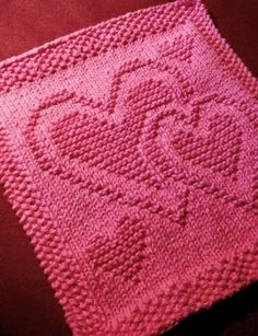 Hand Knitting Tutorials: Be My Dishcloth - Free Pattern