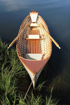 Adirondack Guideboat. a Beautiful piece of work.
