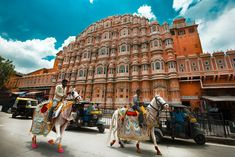 Rajasthan's top 10 most romantic tourist places to visit Palace, Visit Dublin, European City Breaks, Le Palais, Destination Voyage, Top Travel Destinations, Tourist Places, Beautiful Architecture, Indian Architecture