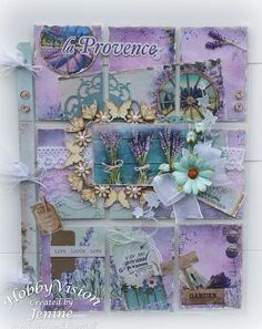 Jenine's Card Ideas: Pocket Letter La Provence