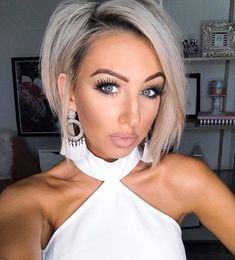 Today we have the most stylish 86 Cute Short Pixie Haircuts. Pixie haircut, of course, offers a lot of options for the hair of the ladies'… Continue Reading → Short Hairstyles For Thick Hair, Short Brown Hair, Haircut For Thick Hair, Short Blonde, Pixie Haircut, Short Hair Cuts, Sexy Bob Haircut, Blonde Hair, Medium Hair Styles
