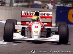 1993 Formula 1 Australian Grand Prix - Ayrton Senna. Indy Car Racing, Indy Cars, Albert Park Melbourne, Australian Grand Prix, Mclaren Mp4, F1 Drivers, Car Drawings, F 1, Ayrton Senna