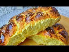 Greek Sweets, Greek Desserts, Greek Recipes, Greek Cookies, Greek Easter, Sweet Bread, Hot Dog Buns, Food To Make, Food And Drink