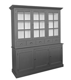 Servieskast afmeting H 215 cm x B 194 cm x D 55 cm - Inndoors Meubelen en Interieur