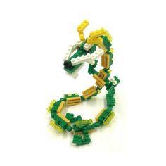 Nanoblock Dragon : 130 pièces pour quelques centimètres