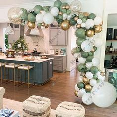 Baby Shower Balloon Decorations, Baby Shower Balloons, Balloon Garland, Birthday Balloons, Balloon Arch Diy, Balloon Decoration For Birthday, Wedding Balloons, Baby Shower Garland, Wedding Shower Decorations