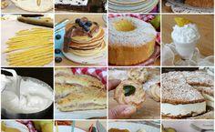 RIUTILIZZARE GLI ALBUMI ricette per tutti i gusti Gnocchi, Finger Food, Gelato, Doughnut, Camembert Cheese, Pancakes, French Toast, Cheesecake, Muffin