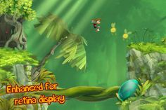'Rayman Jungle Run' Review - A Run-Away Hit