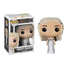 Funko Pop! Game of Thrones Daenerys Wedding Dress Vinyl Figure - New UK Stock