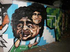 Diego Maradona to stand for FIFA President - Football Prediction Football Predictions, Stencil Art, Urban Art, Fifa, Wall Murals, Presidents, Graffiti, Soccer, Beautiful