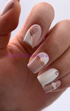 47 Best French Manicure Nail Art Designs Ideas To Try Right Now Square Nail Designs, White Nail Designs, Short Nail Designs, Acrylic Nail Designs, Nail Art Designs, Indian Nail Designs, French Manicure Nails, Manicure E Pedicure, Gel Nails