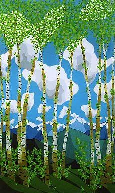 Bigfork artist specializing in serigraphs, watercolor, paintings, landscape art