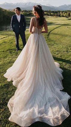 Elegant Wedding Dress, Dream Wedding Dresses, Designer Wedding Dresses, Elegant Gown, Wedding Wows, Wedding Photos, Wedding Themes, Wedding Ideas, Brides