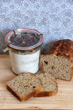 Annas Dolce Vita Brot Backmischung im WECK Glas