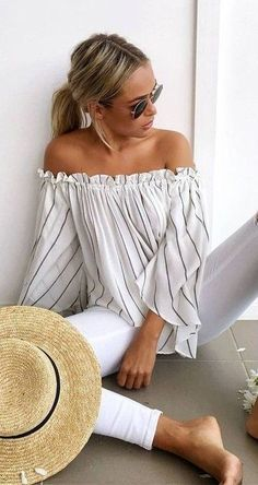 17 Ideas para llevar un look totalmente blanco