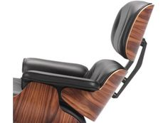 Eames Lounge Chair - a chair that is instantly recognizable - often seen in commercials and movies, the subject of documentaries and books, part of the permanent collections of major art museums, sophisticated and luxuriously comfortable.