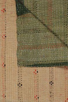 Beautiful kantha quilt
