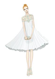 14 Fashion Illustration by adobe illustrator