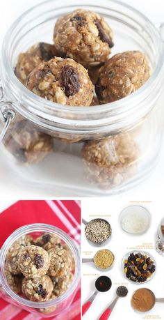 No Bake Nut Free Powerbites | 30 Healthy After School Snacks for Kids | Quick and Easy After School Snacks for Teens