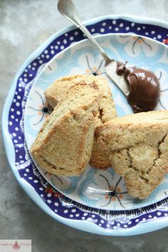 Banana Scones modify type of flour and use stevia or honey for a primal treat.