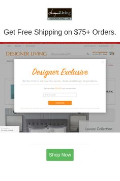 Best deals and coupons for Designer Living