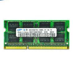 New Laptop RAMs For Lenovo G450 G460 Y460 X200 V450 Y450 DDR3 1066MHz 8500S 2GB RAM Memory Chip Bar #Affiliate