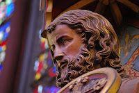 At Sainte Chapelle, Paris, France