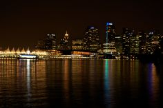 Vancouver by Night (Canada)