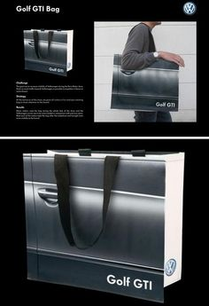 Volkswagen Golf GTI // Great In The Sack: 15 Weird & Wonderful Shopping Bags