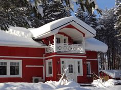 Main building of Reindeer Lake Resort reindeer farm and holiday village on a winter day in Pello in Lapland - Travel Pello - Lapland, Finland Finland Travel, Lapland Finland, Lake Resort, Arctic Circle, Winter Photos, Winter Wonder, Winter Day, Reindeer, Tourism