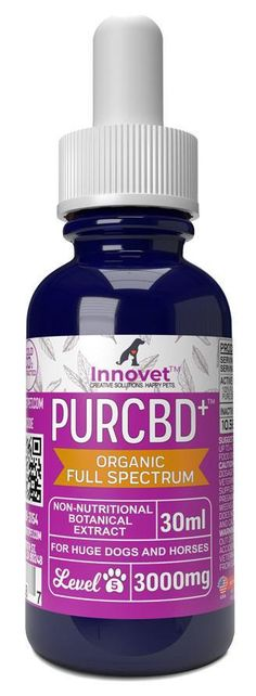 Buy CBD Oil for Dogs - Organic Full Spectrum Hemp Oil | Innovet Pet Cbd Extract, Huge Dogs, Facts You Didnt Know, Oils For Dogs, Cannabis Plant, Mct Oil, Carrier Oils, Hemp Oil, Pet Accessories