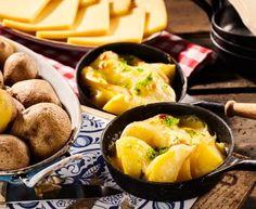 Raclette au four #raclette #four #fromage #Marmiton #recette