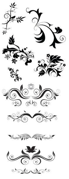 Des ornements ~ KLDezign les SVG