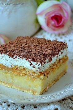 New Menu, Vanilla Cake, Tiramisu, Nom Nom, Food And Drink, Sweets, Baking, Ethnic Recipes, Mamma Mia
