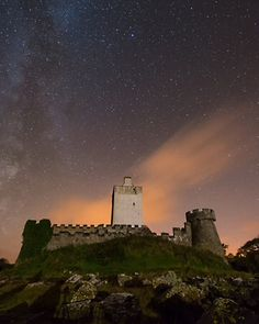 Doe Castle, County Donegal Photograph by Rita Wilson, National Geographic Your Shot  The Milky Way lights up the sky over Doe Castle in County Donegal. Constructed in the 1500s, the castle is surrounded on three sides by water. The closest village is Creeslough, which overlooks Sheephaven Bay.