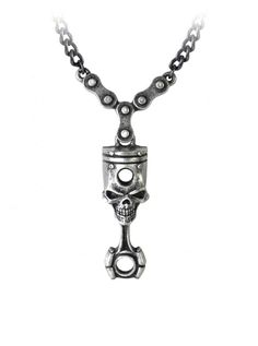 """Piston Head"" Pendant by Alchemy of England #InkedShop #necklace #jewelry #style"