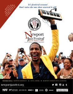 2015 Newport Jazz Festival Preferred Hotels. Photo: Jon Batiste, 2014, by Ayano Hisa