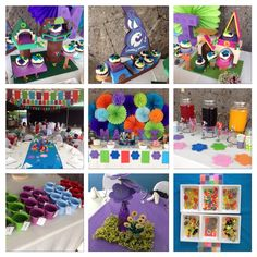 Lego Elves party for Matti's 7th! Happy Birthday, Matti!! Event styling by…