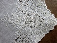 Antique lace hankie
