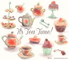 Tea Time Clip Art