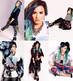 Demi in Nylon Magazine! I loved these pics sooo much when they came out! Still do!!