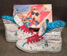 Rare HTF 1986 Anheuser Busch Spud MacKenzie Basketball Kicks Sneakers 7.5 M | Sporting Goods, Team Sports, Basketball | eBay!